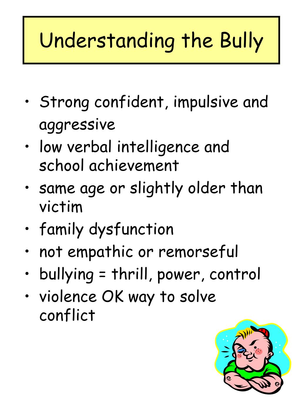 Understanding the Bully