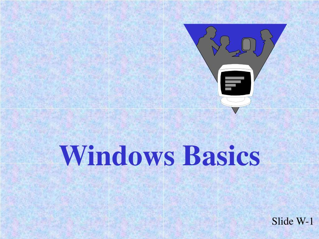 windows basics l.