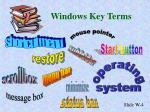 windows key terms4