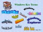 windows key terms5