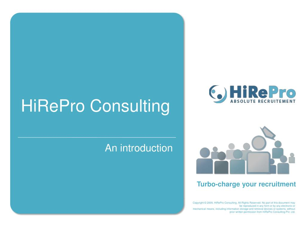 hirepro consulting l.