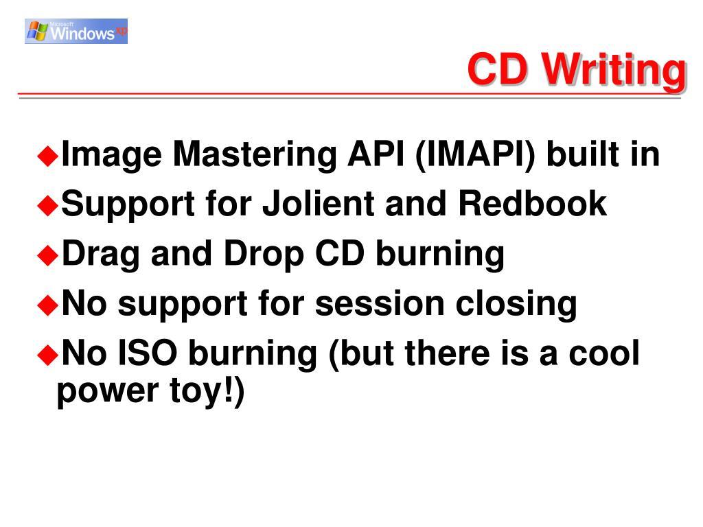 CD Writing