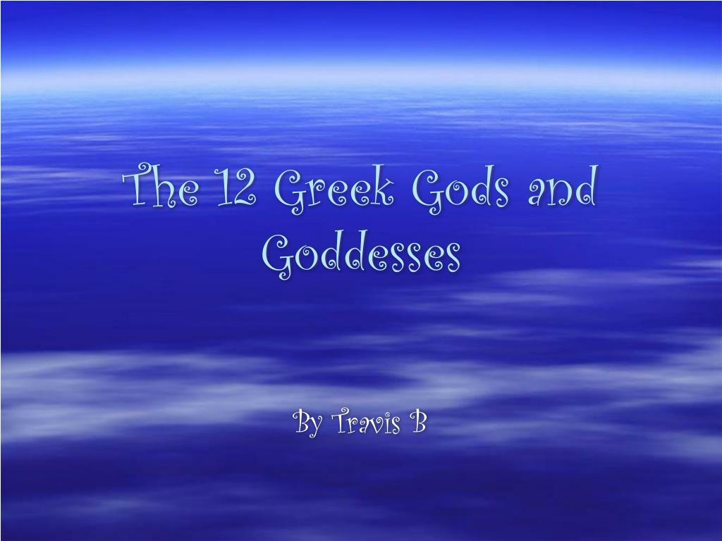 the 12 greek gods and goddesses l.
