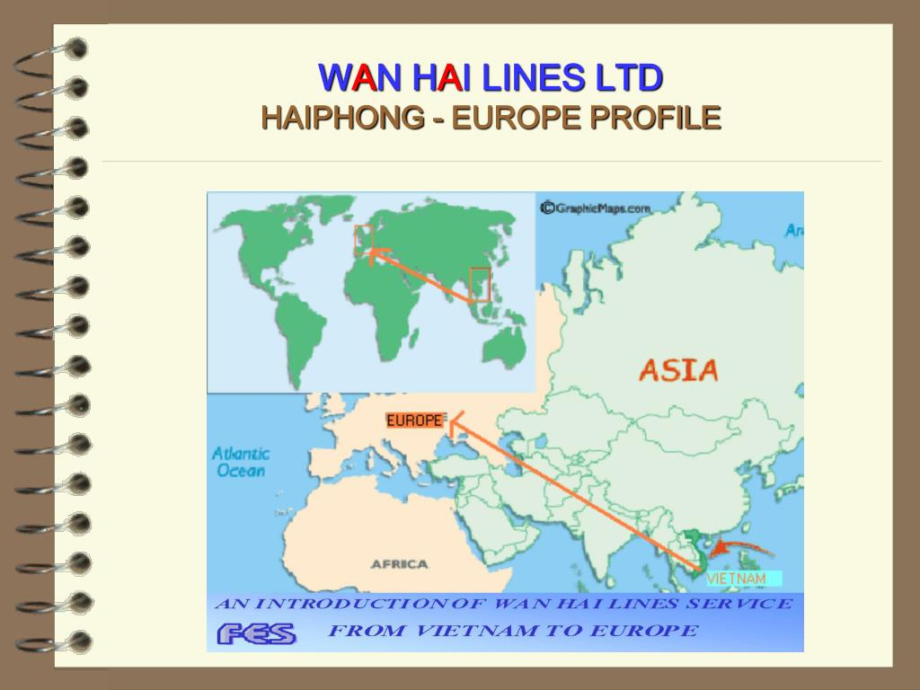 w a n h a i lines ltd haiphong europe profile l.
