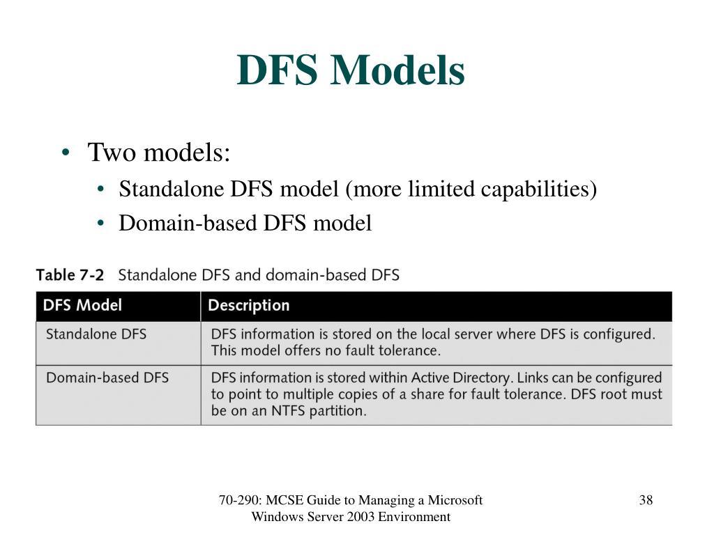 DFS Models