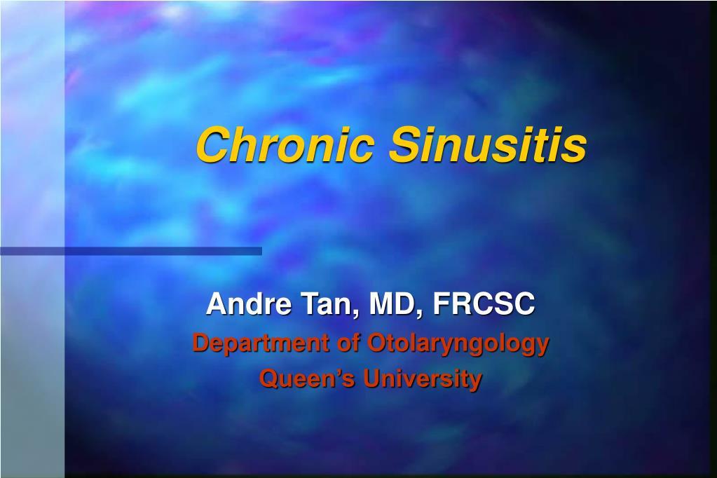 chronic sinusitis l.