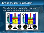 physics of gases boyle s law