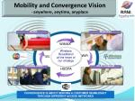 mobility and convergence vision anywhere anytime anyplace