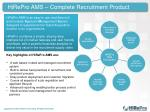 hirepro ams complete recruitment product