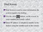 dial screen6