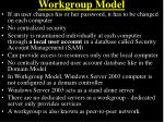 workgroup model9