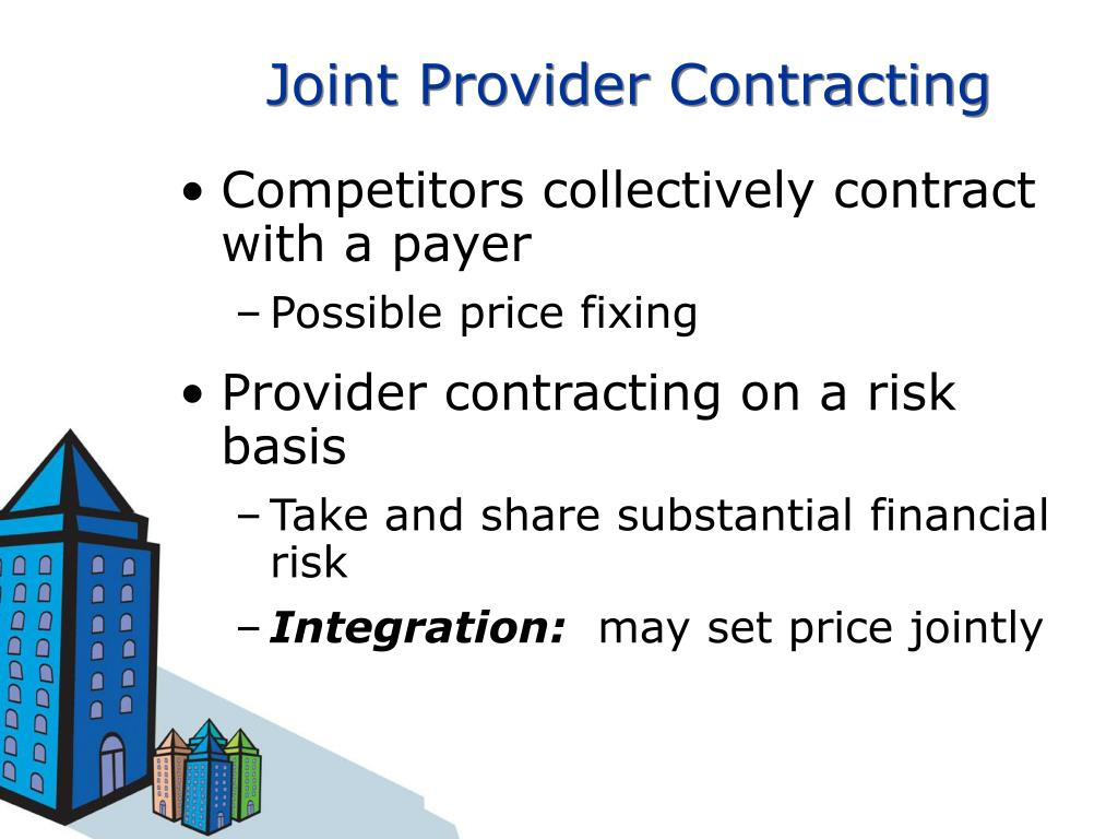 Joint Provider Contracting