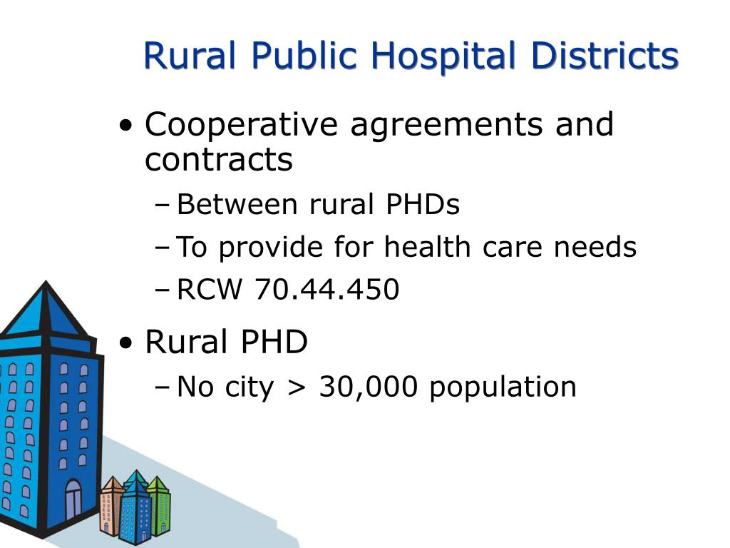 Rural Public Hospital Districts