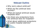 webcast outline