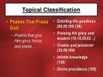 topical classification15