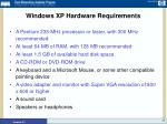 windows xp hardware requirements13