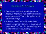 boethius aristotle