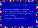 happiness god