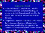 rational soul