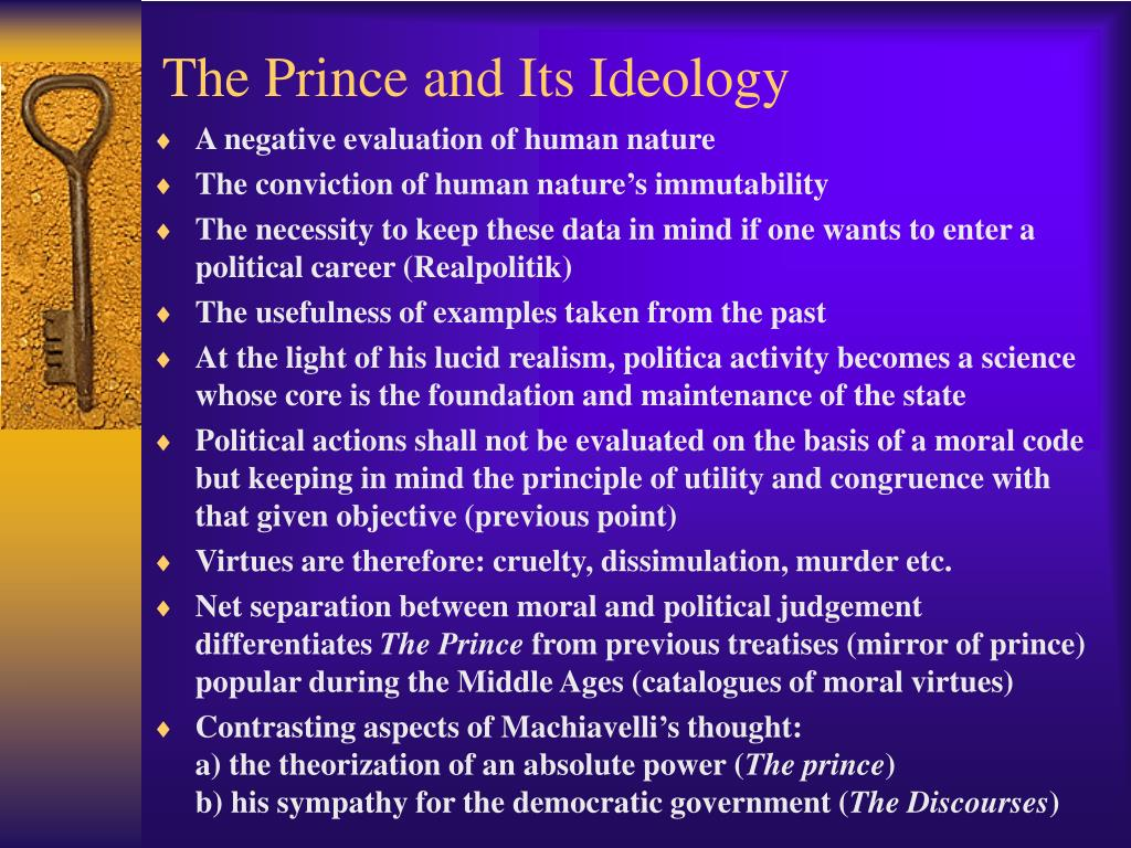 The Prince and Its Ideology