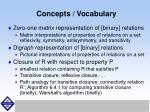 concepts vocabulary46