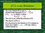 7 2 n ary relations