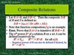 composite relations