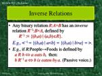 inverse relations