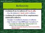 reflexivity
