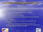 how will ipv6 deployments occur
