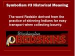 symbolism 3 historical meaning