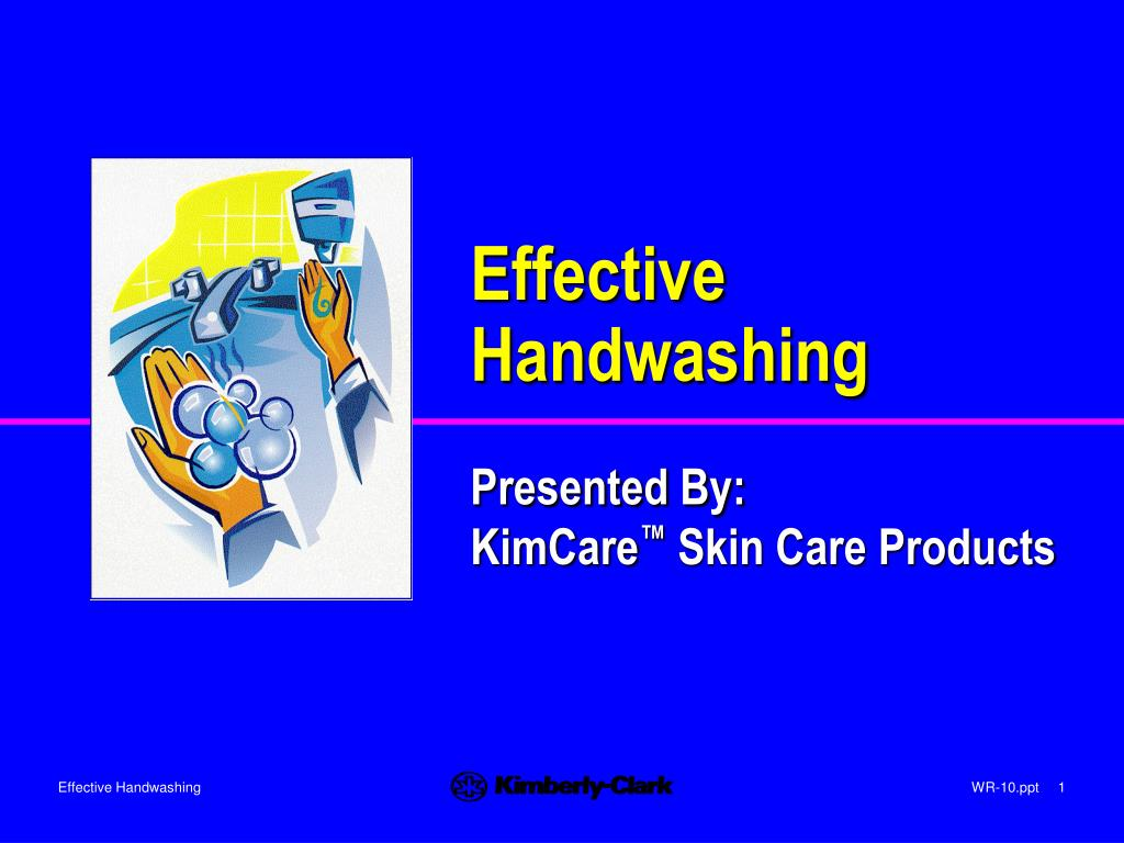 effective handwashing l.