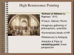 high renaissance painting
