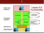 legacy ils functionality