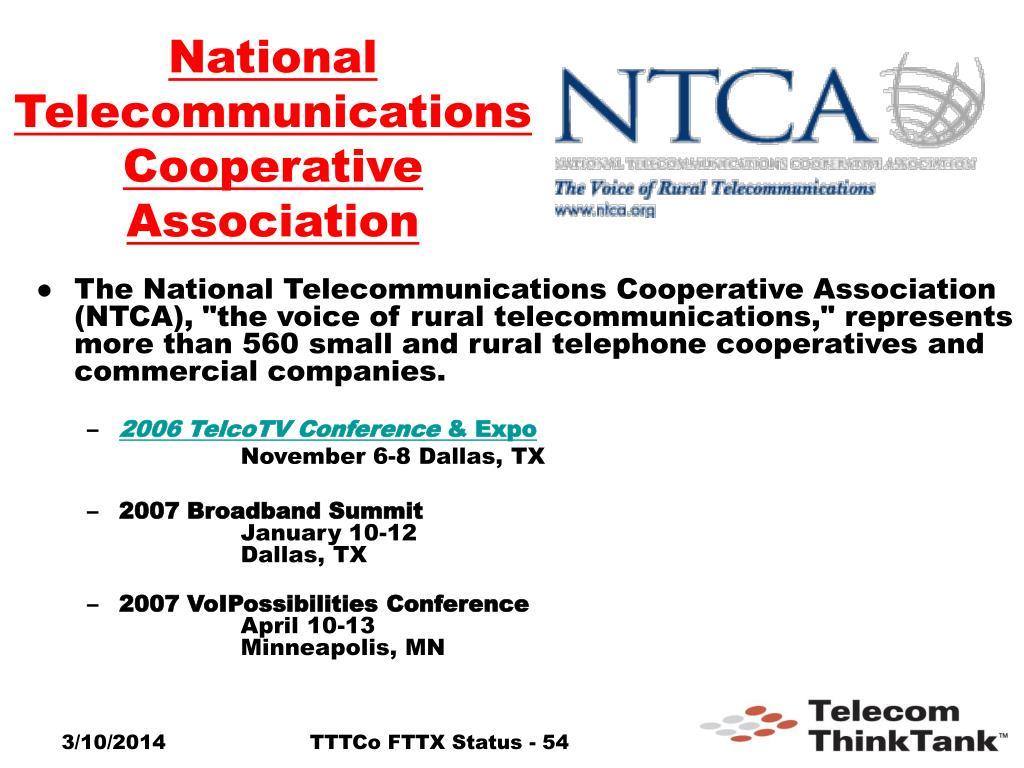 National Telecommunications Cooperative Association
