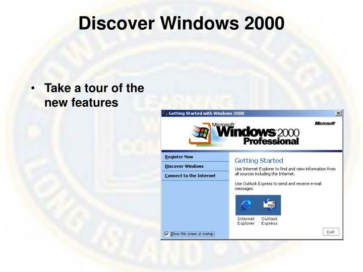 Discover windows 2000
