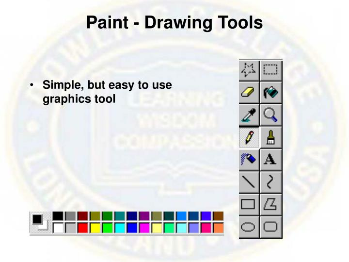 Paint - Drawing Tools
