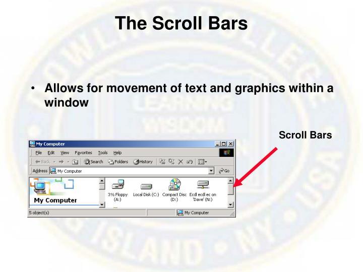 The Scroll Bars