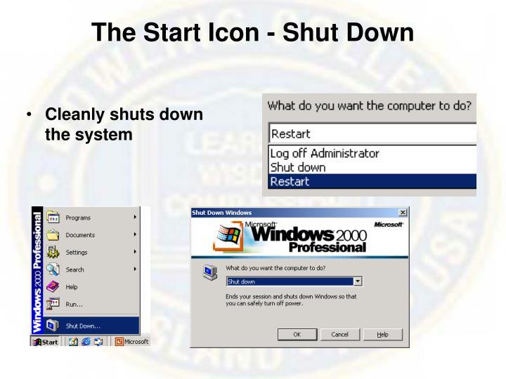 The Start Icon - Shut Down