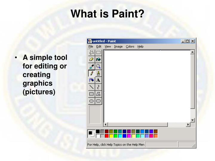 What is Paint?