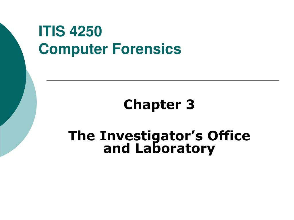 itis 4250 computer forensics l.