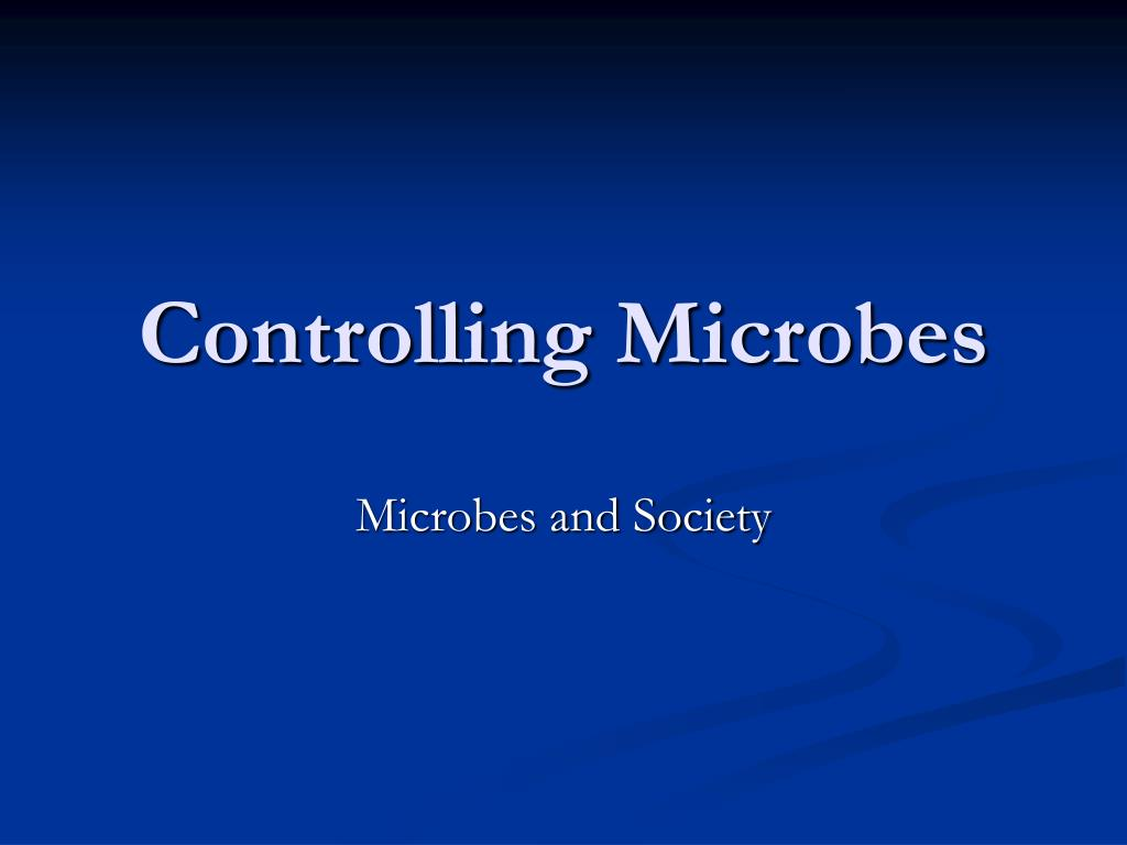 controlling microbes l.