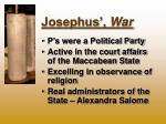 josephus war