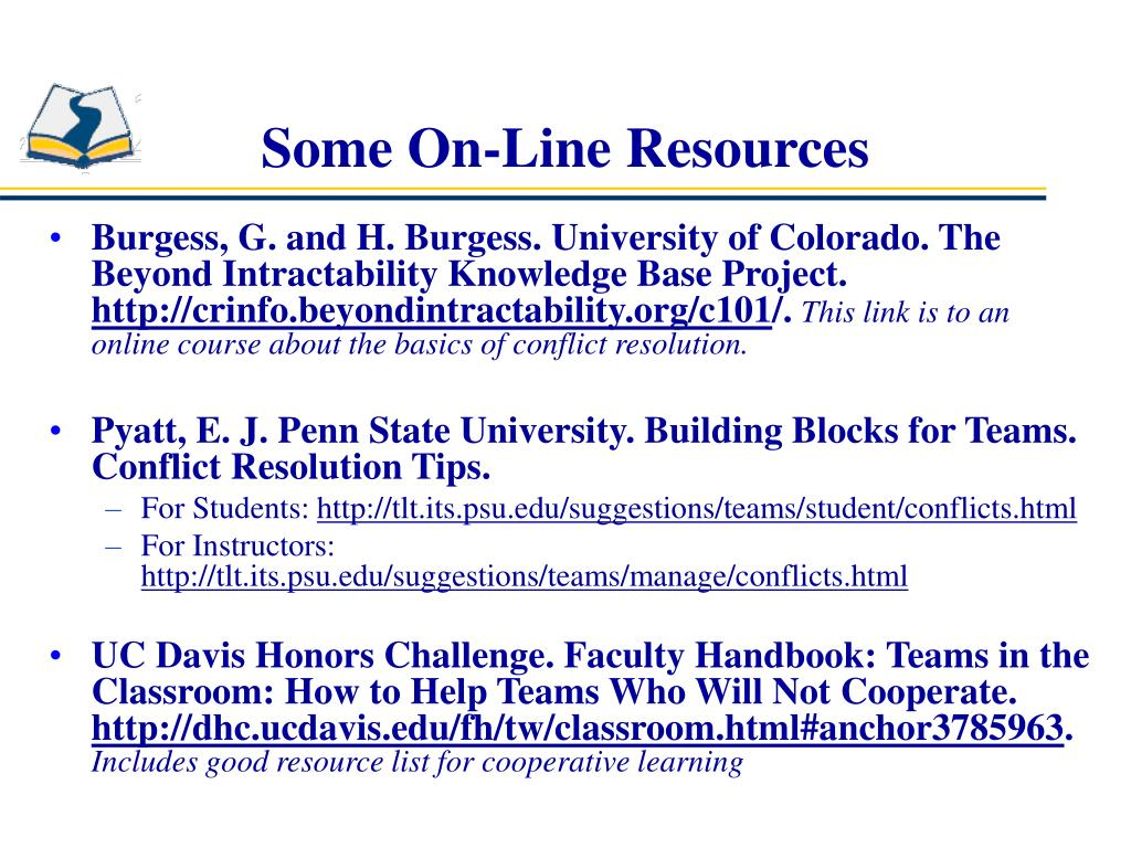Some On-Line Resources