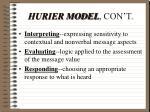 hurier model con t