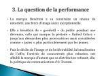 3 la question de la performance