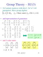 group theory su 3