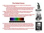 the nobel gases