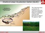stanford linear accelerator center slac