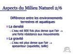 aspects du milieu naturel 2 6